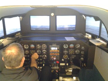 AST Flight Simulator - Repaired by XSPEC Aviation